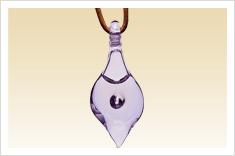 Australian Bush Glass Pendants