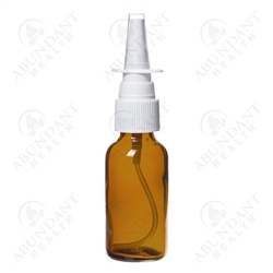 Amber Bottle with Nasal Spray