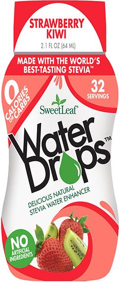 Strawberry Kiwi SweetLeaf Water Drops