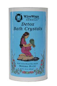 Detox Bath Crystals 16oz
