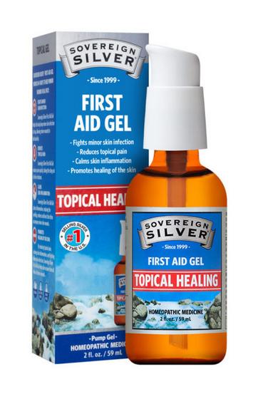 Silver First Aid Gel 2oz