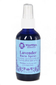 Lavender Burn Spray 4 oz