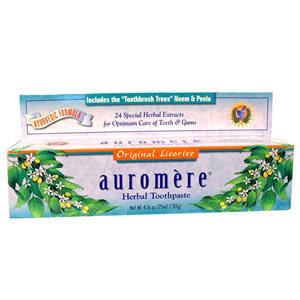 Auromere Licorice Toothpaste