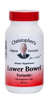 Lower Bowel Formula 100 caps