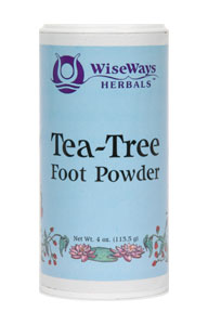 Tea Tree Foot Powder 3 oz